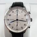 IWC 포르투기스 크로노 스틸 시계 (IW371446)