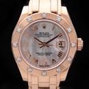 로렉스 로즈골드 다이아 시계 (80315)