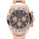 로렉스 데이토나 골드 시계 (116505)