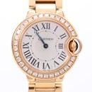 까르띠에 발롱블루 다이아 골드 시계 (28mm)