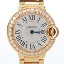 까르띠에 발롱블루 다이아골드 시계(WE9001Z3)