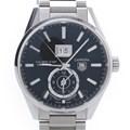 테그호이어 까레라 투타임 스틸 시계(WAR5010)