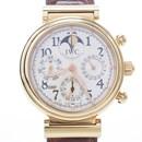 IWC 다빈치 퍼페츄얼캘린더 골드 시계