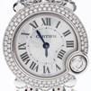 까르띠에 발롱블랑 골드 다이아 시계