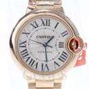 까르띠에 발롱블루 골드 시계 (33mm)