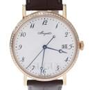 브레게 클래식 다이아 골드 시계 (5178BR)