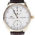 IWC 레귤레이터 골드 시계