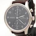 IWC 포르투기스 골드 크로노 다이아 시계