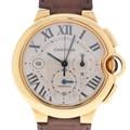 까르띠에 발롱블루 골드 크로노 시계