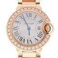까르띠에 발롱블루 골드 다이아 시계(28mm)