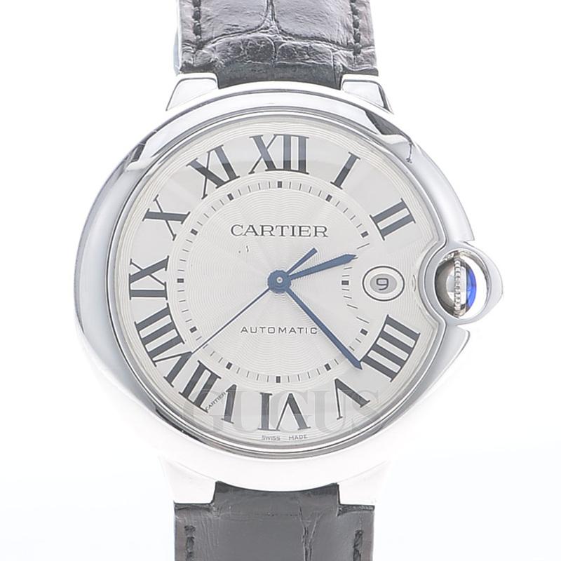 까르띠에 발롱블루 스틸 시계 (42mm)