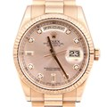 로렉스 골드 다이아 시계 (118235)