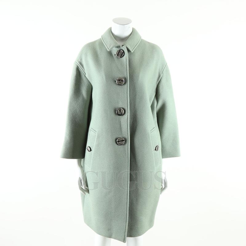 버버리 프로섬 에메랄드 캐시미어 코트