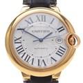 까르띠에 발롱블루 골드 시계 42mm