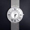 티파니 아틀라스 화이트골드 다이아몬드 시계