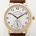 아랑에운트죄네 삭소니아1815 옐로골드18K 시계