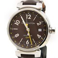 루이비통 땅부르 GMT 시계 (Q1131)