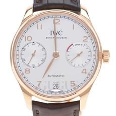 IWC 포르투기스 세븐데이즈 골드 시계 (IW500701)