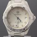태그호이어 아쿠아레이서 다이아 쿼츠 스틸 여성용 시계