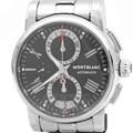 몽블랑 스타 스틸 크로노 시계
