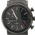 구찌 스틸 크로노 시계 (101M)