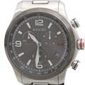 구찌 스틸 크로노 시계 (126.2)