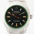 로렉스 116400GV 밀가우스 블랙 시계 풀셋