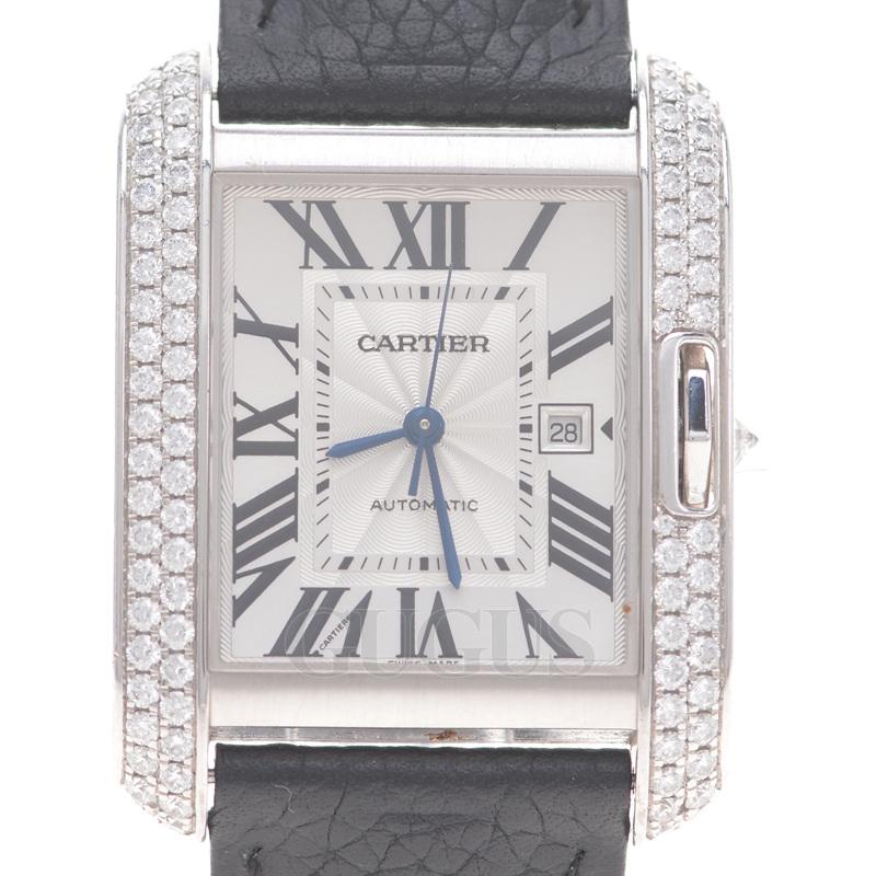 까르띠에 앙글레즈 다이아 시계(WT100018)