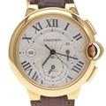 까르띠에 발롱블루 골드 크로노 시계 (44mm)