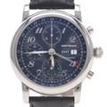 몽블랑 GMT 크로노 스틸 시계