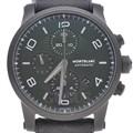 몽블랑 타임워커 크로노 스틸 시계