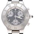 까르띠에 21세기 크로노 스틸 시계