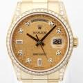 로렉스 118388 10P 데이데이트 36mm 골드시계