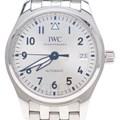 IWC 파일럿 스틸 시계