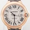 까르띠에 발롱블루 핑크골드18K 42mm 시계 미사용품