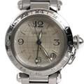 까르띠에 파샤 GMT 스틸 시계