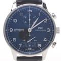 IWC 포르투기스 크로노 스틸 시계
