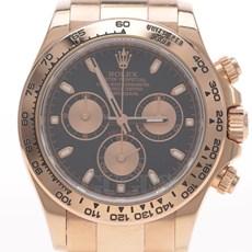 로렉스 데이토나 골드 시계(116505)