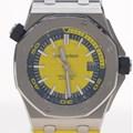 오데마피게 로얄오크 오프셔 스틸 시계