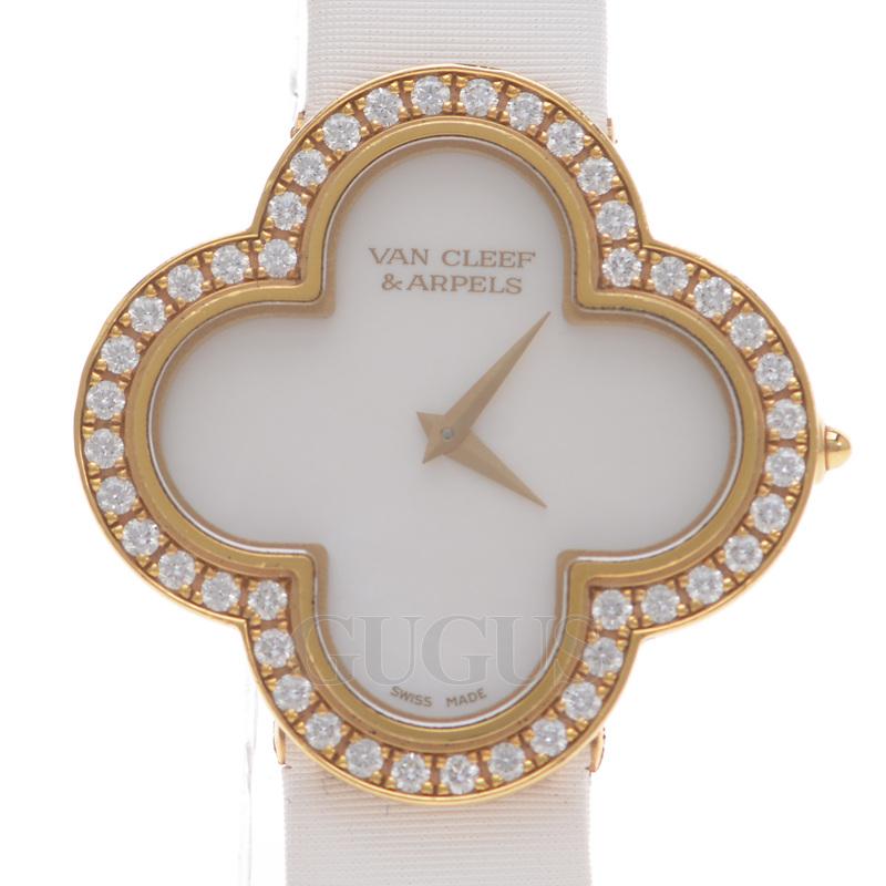 반클립앤아펠 알함브라 골드 시계