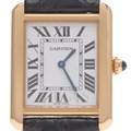 까르띠에 솔로탱크 골드 시계