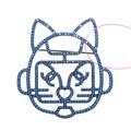 샤넬 고양이 브로치