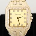 Cartier 까르띠에 팬더 옐로골드18K 중형 시계