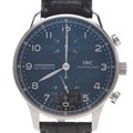 IWC 포르투기스 크로노 스틸 시계(IW371438)