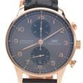 IWC 포르투기스 크로노 골드 시계 (IW371610)