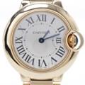 까르띠에 발롱블루 골드 시계 (W69001Z2)