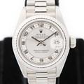 로렉스 69179 화이트골드18K 26mm 여성시계