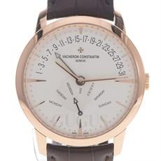 바쉐론 콘스탄틴 패트리모니 레트로그레이드 데이데이트 골드 시계 (4000U)
