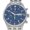 IWC 파일럿 어린왕자 크로노 스틸 시계 (IW377717)