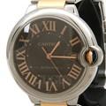 까르띠에 발롱블루 콤비 시계 (라지)